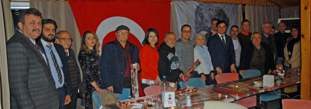 Başkan Türe, gazetecilerle bir araya geldi
