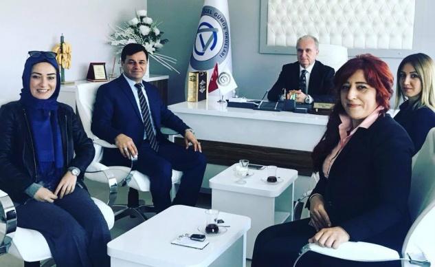 Başkan Türe'den Özel Gümüş Okulu'na ziyaret