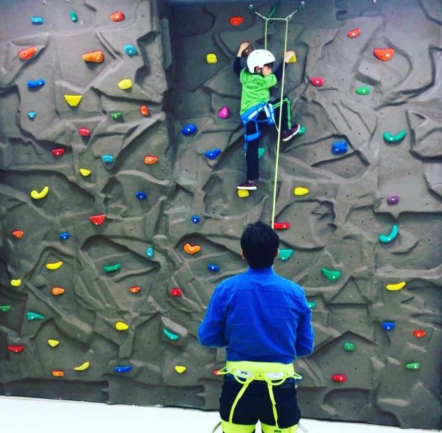 Özel Gümüş Koleji'nde tırmanma eğitimi verilecek