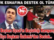 (DP) Genel başkanına ilk destek Anamur İlçe başkanı Özdemirden geldi
