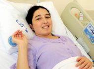 Rahim nakli yapılan Derya Sert anne oldu