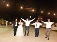 Ahmet Çetin'in mutlu günü