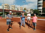 ANTİSK'ten yaşlılara indirimli tenis oynama imkanı