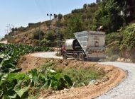 Belediyeden Anıtlı'da asfalt çalışması