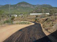Bozyazı'da asfalt çalışması