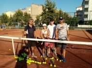 Milli tenisçi Anamur'da kampta