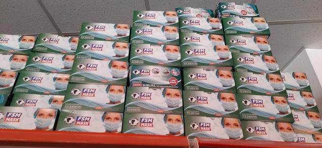 Akoğlan Market'ten maske kampanyası