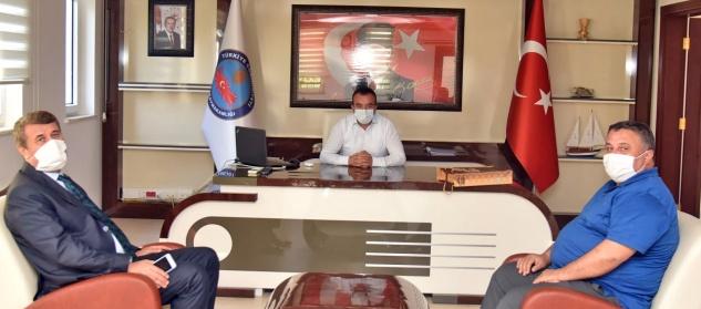 Kılınç ve Çetin'den Yılmaz'a ziyaret