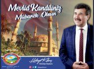 Başkan Kılınç'tan kandil mesajı