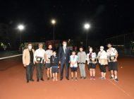 Cumhuriyet Tenis Turnuvası tamamlandı