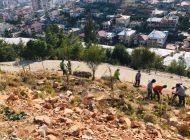 Atatepe ağaçlandırılıyor