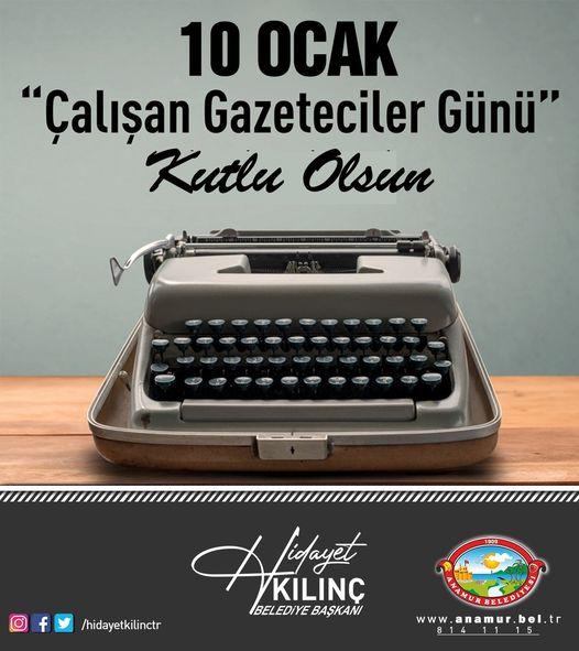 Kılınç'tan yerel basına kutlama