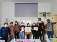 Öğrenciler sağlık çalışanları için resim yaptı