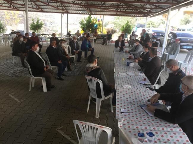 Sarıağaç'ta Mahalle Toplantısı