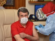 Kılınç, Covid-19 aşısı yaptırdı