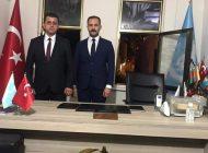 Anamur Ülkü Ocakları Bayrağını Mehmet Emin Erdinç teslim aldı