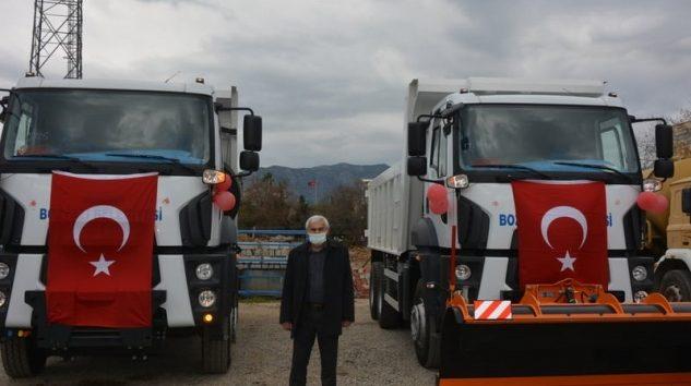 Bozyazı Belediyesi 2 yeni araç aldı