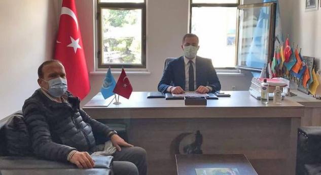 Kılınç'tan  Erdinç'e hayırlı olsun ziyareti