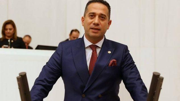 Başarır, mecliste Mersin'in sorunlarını anlattı
