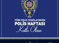 Başkan Hidayet Kılınç'dan Polis Haftası Mesajı