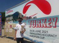 Uluslararası yarışmada Anamur'u temsil etti