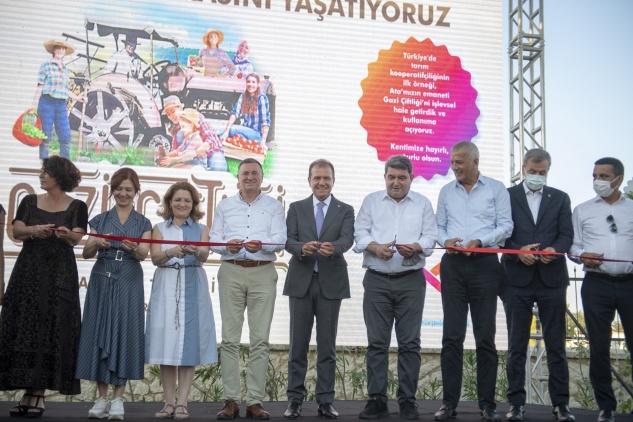 Atatürk'ün mirası Gazi Çiftliği açıldı