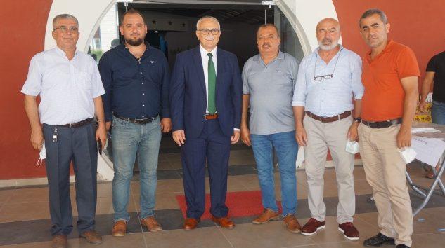 Başkan Ahmet Özdemir güven tazeledi