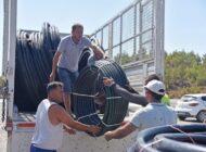 Anamur Belediyesi'nden Demirören mahallesine yardım