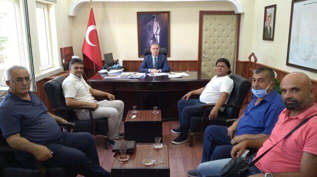 Memleket Partisi'nden Bozdemir'e ziyaret