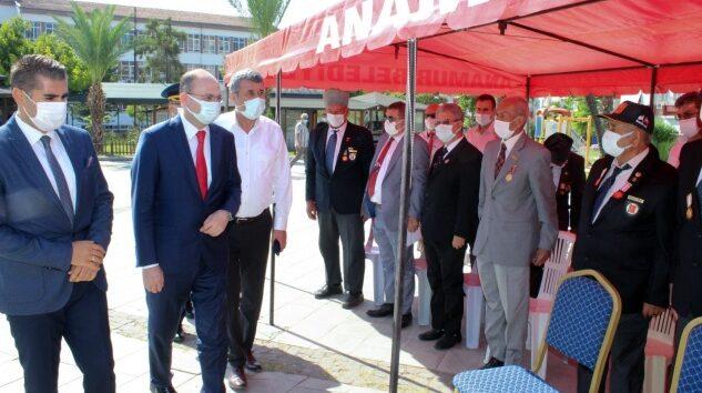 Anamur'da Gaziler Günü programı