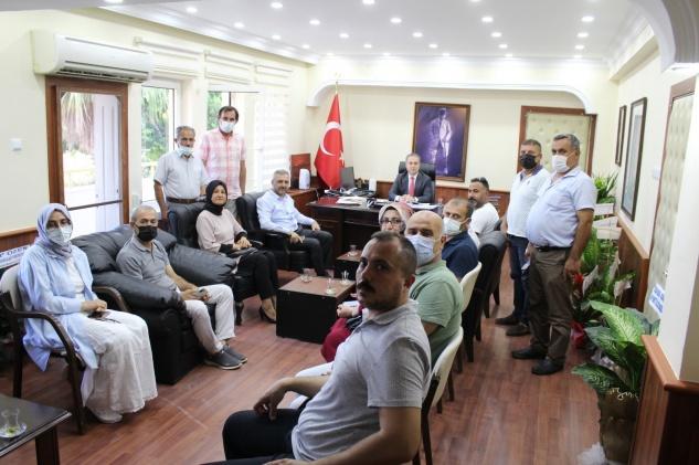 AK Parti Kaymakam Bozdemir'e ziyaret