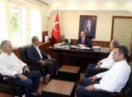 Seçer'den Kaymakam Bozdemir'e ziyaret