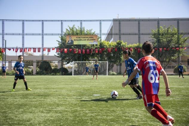 Büyükşehir'den futbol turnuvası