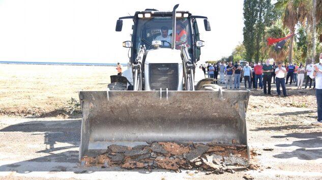 Sahil Projesi başladı