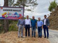 CHP'den Kükür köylerine ziyaret