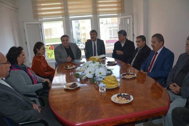 Kılınç'tan STK ziyaretleri