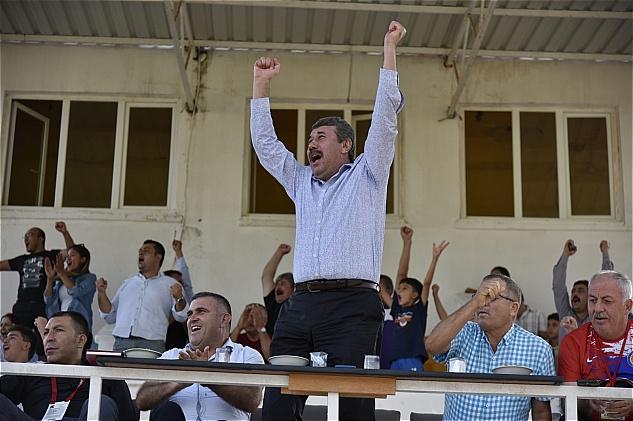 Anamur Belediye Spor hem coştu hem coşturdu