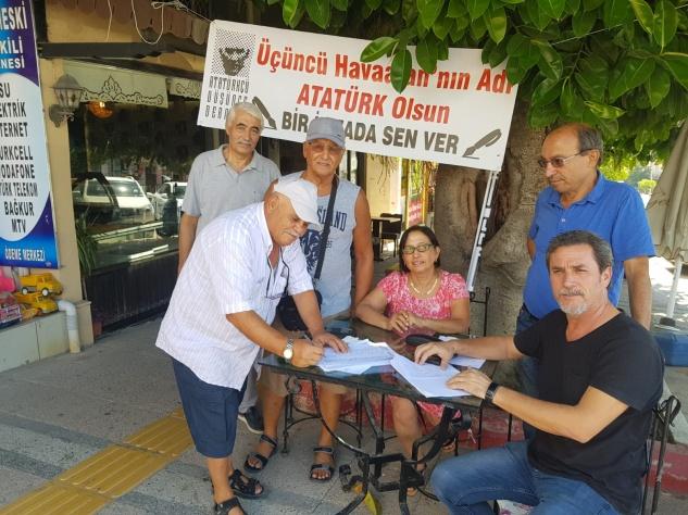 ADD 'Atatürk' ismi için imza topluyor