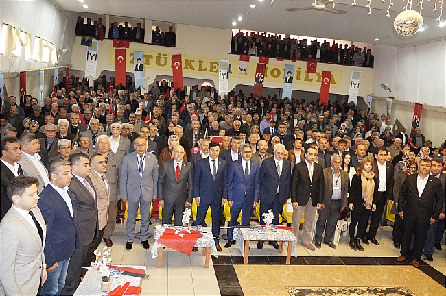 İyi Parti Anamur İlçe Başkanlığı 1. Olağan Kongresi yapıldı