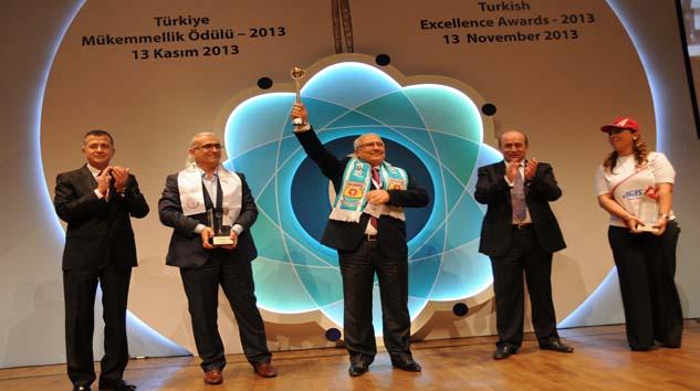 Türkiye mükemmellik ödülünü Tarsus Belediyesi aldı