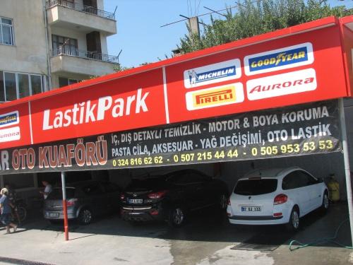 NAR OTO YIKAMA LASTİK PARKI ANAMUR'A GETİRDİ
