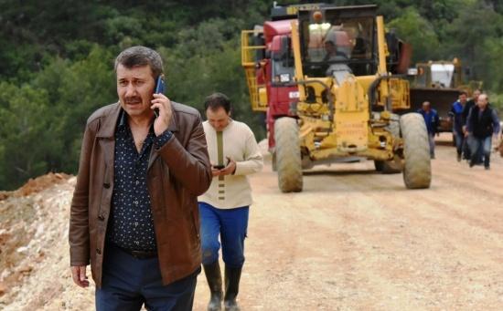 """Başkan Kılınç : '  Seçimde Söz verdim yapacağım"""", 15 gün içerisinde asfalta başlayacağız.''"""