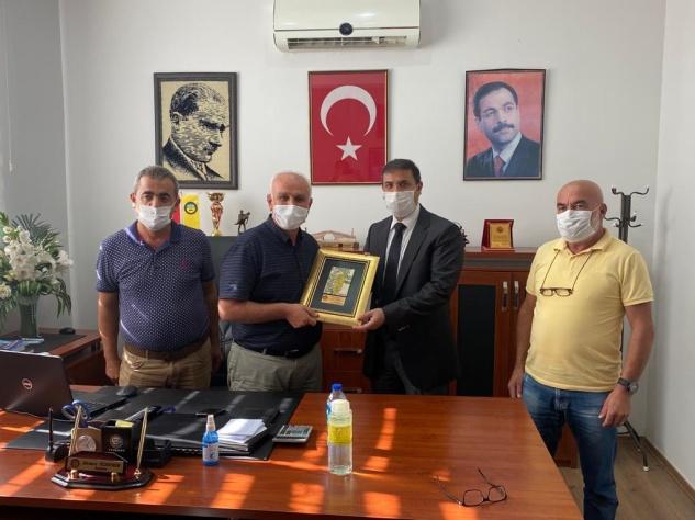 Özdemir'den Kaymakam Başaran'a teşekkür