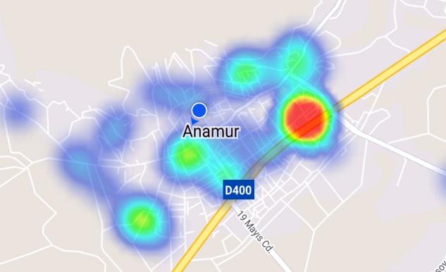 Anamur'da vaka sayısı 500'ü geçti