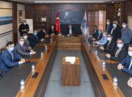 Başkan Seçer, İYİ Parti heyetini ağırladı.