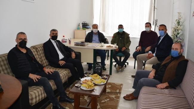 Orman İşletmesi yeni müdürü İsmail Gübeş, A. D. S. S.Derneğini ziyaret etti