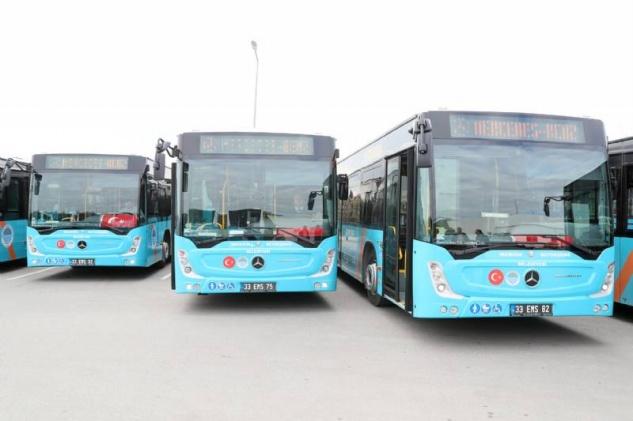 Belediye otobüsleri vatandaşı mağdur ediyor