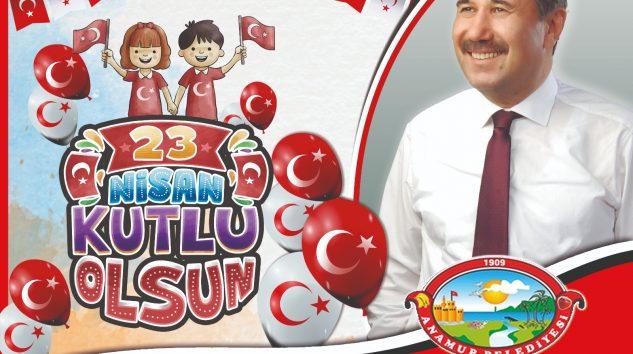 Başkan Kılınç 'tan 23 Nisan mesajı