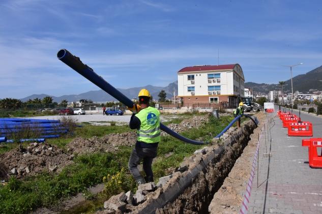 MESKİ'den 3 ilçeye 127 bin metre içme suyu hattı