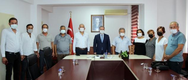CHP, Kaymakam Bozdemir'i ziyaret etti